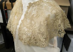 a lovely example of machine lace