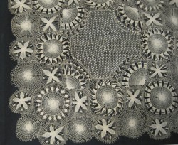 a beautiful example of Teneriffe lace